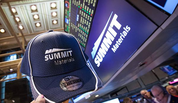 Summit Materials Goes Public