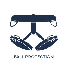 Safety Icon for Fall Protection